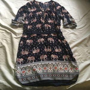 a'gaci Dresses & Skirts - Elephant Print Dress