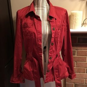 Jackets & Blazers - Old Navy Belted Utility Jacket