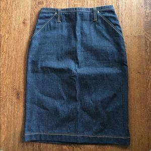 Gianfranco Ferre Dresses & Skirts - Gianfranco Ferre denim pencil skirt!