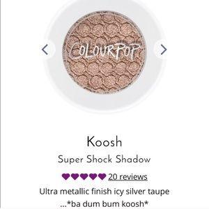 BNWB Limited Edition Colourpop Eyeshadow in Koosh