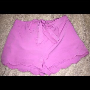 Energie Pants - NWT Frosted Lilac Shorts - XL