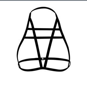 Bnwot Harness Halter Bra Size Small