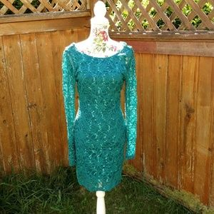 Emerald Sundae Dresses & Skirts - 🎀Emerald Sundae Turquoise Lace Body Con Dress🎀