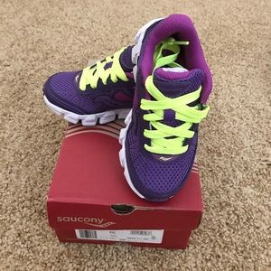 Saucony Other - 1 hour price drop. New Saucony shoes. Girls 10.5.