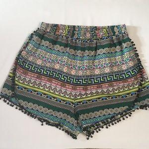 Pants - Plus tribal short