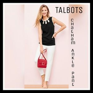 N.W.O.T. Talbots Chatham Ankle Pant