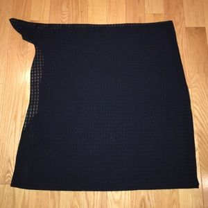 Macy's Other - Black checkered sarong