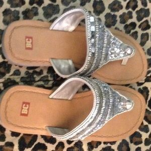 BC sequence sandals