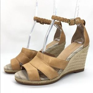 Sperry Top-Sider Shoes - SPERRY TOP SIDER Leather Strappy Wedge Sandals
