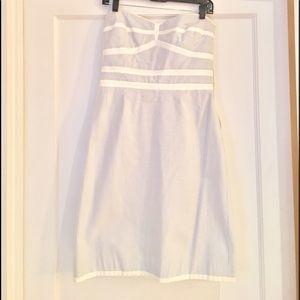 Abaete Dresses & Skirts - Strapless striped dress