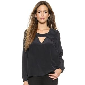 """Rory Beca Tops - Rory Beca """"Mento"""" blouse in Black. 100% Silk!"""