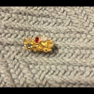 John Hardy Jewelry - AUTHENTIC NEW John Hardy Naga 18kt earring