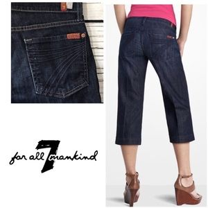 7 For All Mankind Cropped Dojo Size 27