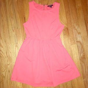 Forever 21 Dresses & Skirts - Forever 21 Coral skater dress- medium