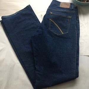 PZI Denim - PZI Dark Wash Straight Leg Jeans