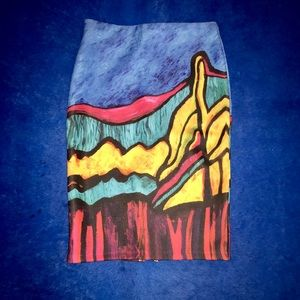Dresses & Skirts - FLASH SALE: Picasso-inspired Skirt (24 hrs)