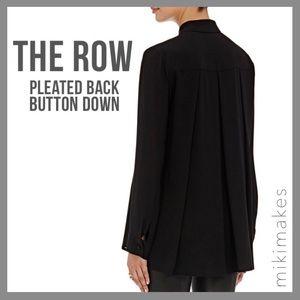 The Row Tops - 🆕 THE ROW • carlton black button down blouse