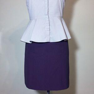 Worthington Purple Pencil Skirt- NWOTs!