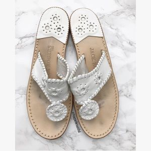 Jack Rogers Shoes - Jack Rogers White Sandals