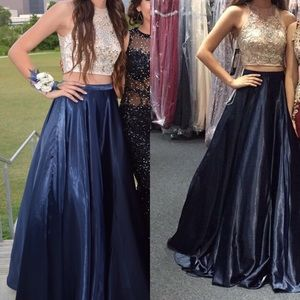 PromGirl Dresses - Two piece prom dress!!