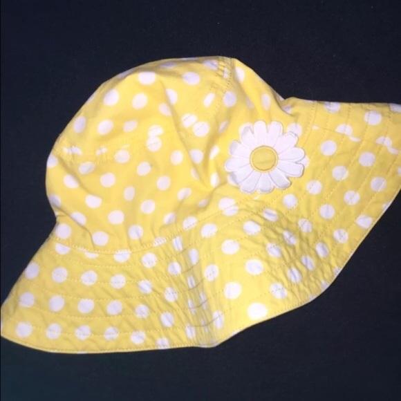 1fb9a4308a4 NWT Gymboree Daisy sun bucket hat 12 18 24 M