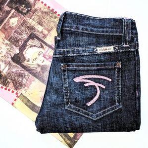 Frankie B. Denim - ❤️ {Frankie B.} breast cancer awareness jeans