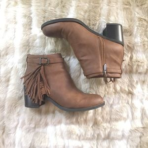 Circus by Sam Edelman Shoes - Circus Sam Edelman Fringe Leather Booties