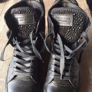 Buscemi Shoes - BUSCEMI SWAROVSKI Black Shoes