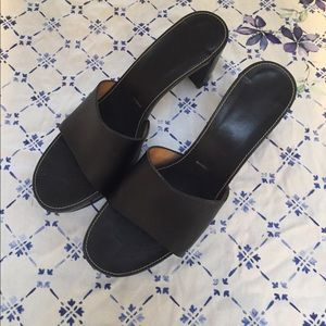 Everlane Shoes - Robert Clergerie Black Open Toe clogs