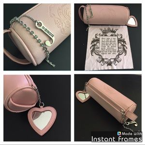 💕 Juicy Couture glasses / cosmetics case