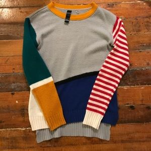 ModCloth Sweaters - Modcloth Quirky Mixed Media Sweater