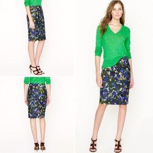 J. Crew Dresses & Skirts - J.Crew No.2 Pencil Skirt in Gardenshade Floral