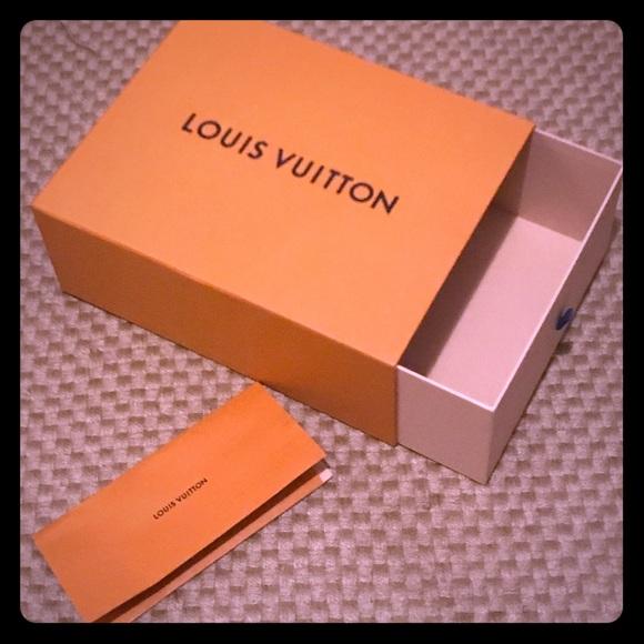 Louis Vuitton Accessories | Draw Box With Receipt Holder ...