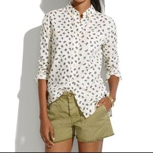 Penfield By Madewell Paisley Shirt Small