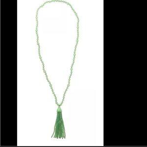 Jewelry - Kenneth Jay Lane Green Tassel necklace
