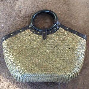 Barneys New York Handbags - NWT Barneys woven bag