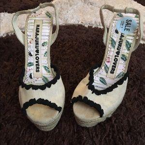 Harajuku Lovers Shoes - 🌺BRAND: HARAJUKU LOVERS, SIZE: 7, COLOR: TAN