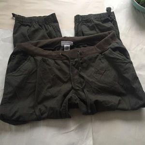 Liz Lange for Target Pants - NWOT Liz Lange Maternity Dark Olive Cargo Pants