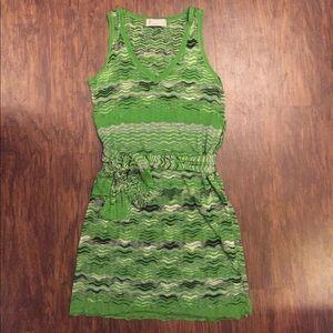 M by Missoni Dresses & Skirts - M by Missoni green tank knit dress