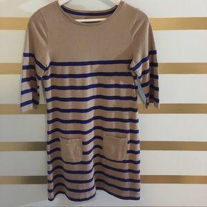 Boden Dresses & Skirts - Half sleeve Boden Striped Cotton Dress