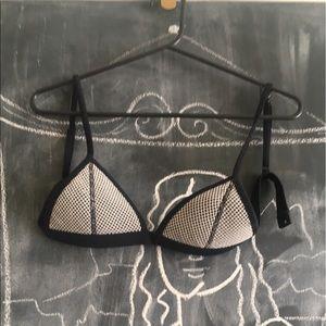 triangl swimwear Other - triangl Fishnet Bikini Top