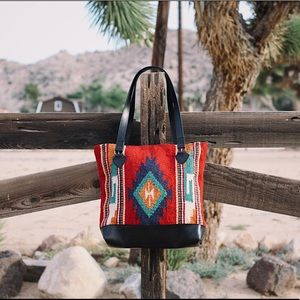 Mexican 100% wool tote
