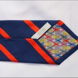 Eton Other - Eton NWOT 100% Pure Silk Striped Tie Retail: $150