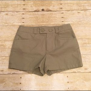 Lacoste Pants - Olive green Lacoste shorts, size 2