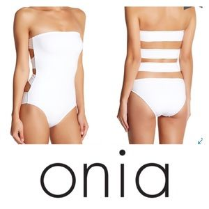 Onia Other - Onia Allie Strapless One-Piece