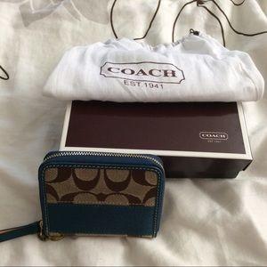 Mini Signature Coach wallet