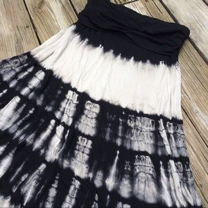 Lapis Dresses & Skirts - Cool Tie Dye Maxi Skirt / Tube Dress