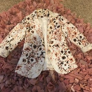 Zenana Outfitters Jackets & Blazers - Floral Blazer