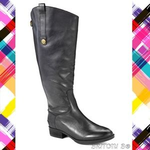 63% off Shoes - Blondo Waterproof Leather, Wide Calf Boots size 8 ...