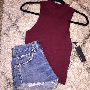 Brandy Melville Tops - Cropped ribbed tank